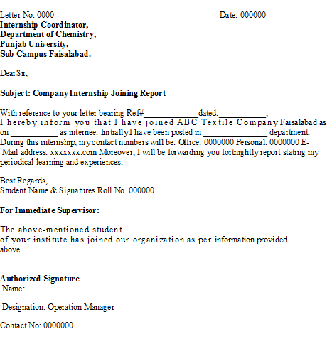 Company internship Report