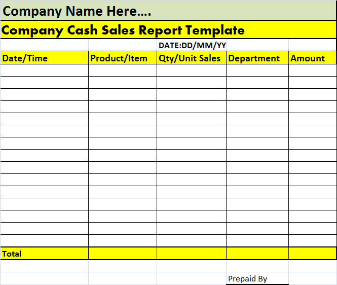 business report templates