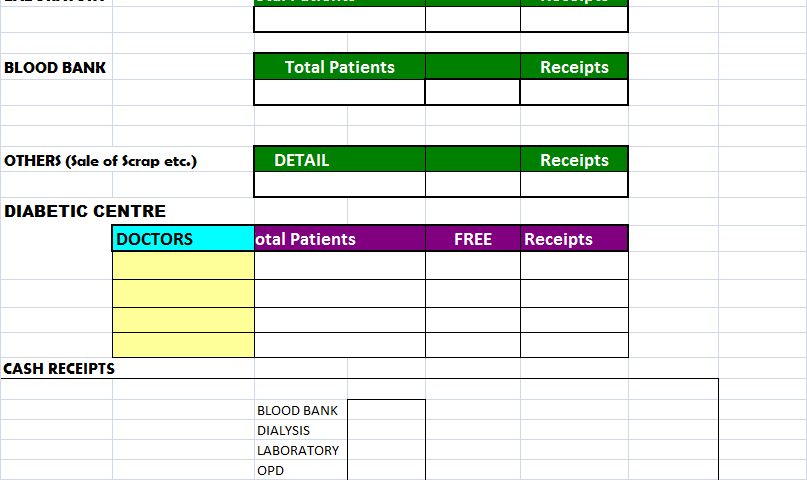 Free MS Excel Report Templates