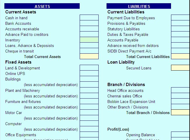 Latest Balance Sheet Report Template – Free Report Templates